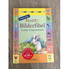 Buch Bilderfibel, lustige Tiergeschichten