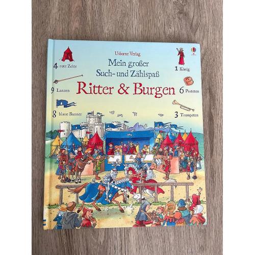 Buch Ritter und Burgen