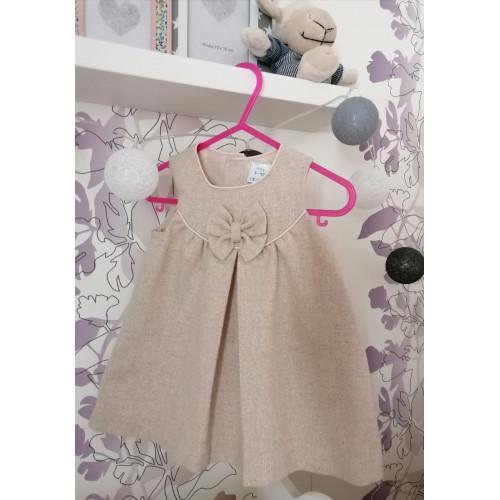 Kleid mit Schleife Gr. 74-80