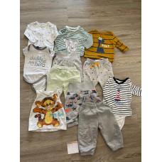 Paket Baby Junge Body Hose Shirts Gr. 62