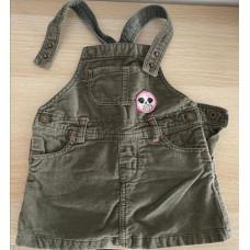 Baby Träger Kleid, Rock mit Träger Gr. 68