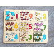 Holz Spielzeug Puzzle Lernspielzeug