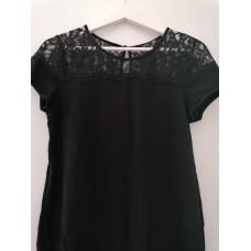 Umstands T-Shirt , Schwangerschafts Shirt schwarz Gr. 38