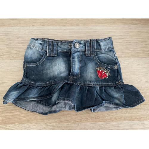 Jeans Rock Gr. 92
