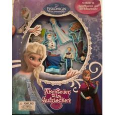 Buch Eiskönigin mit 10 Spielfiguren
