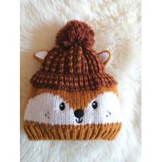 Mütze Wintermütze Baby Gr. 74-80
