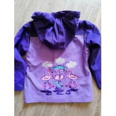 Regenjacke Jacke Mädchen Gr. 116