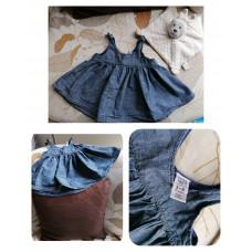 Jeansstylekleidchen von GAP Gr. 62
