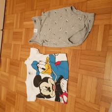 Body und Shirt in Grösse 86