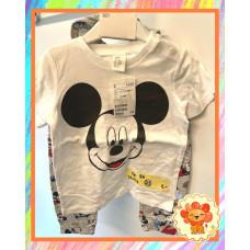 Set T-Shirt Hose Dreieckstuch Micky Mouse Gr. 86 Flohmarkt