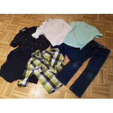 Kleiderset Grösse 122