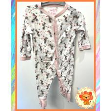 Pyjama Schlafanzug Gr. 62-68 Mädchen Flohmarkt