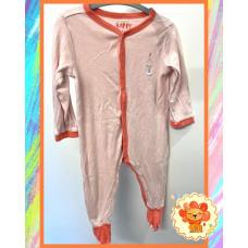 Pyjama Schlafanzug Gr. 74-80 Mädchen Flohmarkt