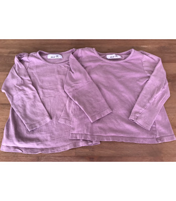 2x Longshirts Gr. 104